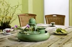 fontana keramik Locarno green
