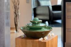 fontana keramik Pisa green