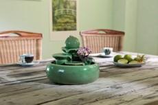 fontana keramik Trentino green