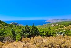 Monolithos castle Grcija