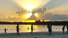 soncni zahod Mauritius