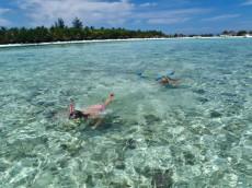 snorkljanje Maldivi