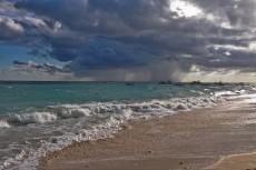 nevihta na otoku