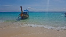 65LONG BOAT ON BAMBOO ISLAND