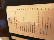 cena zajtrka Filipini
