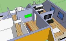 Akvarij - osnovna postavitev v prostor814