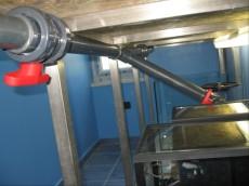 ventil za odtok v akvariju