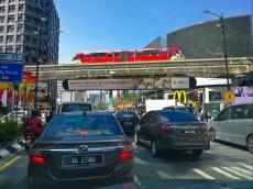 Chinatown skytrain Kuala Lumpur