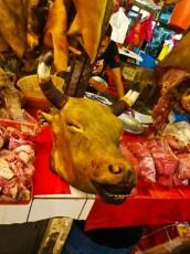 Chowkid market kravja glava