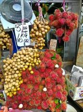 Chowkid market nenevadno sadje