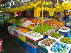 Chowkid market trznica Kuala Lumpur