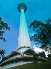KL Tower Kuala Lumpur od spodaj