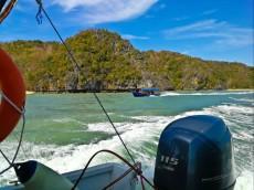 Kilim geoforest park speed boat Langkawi