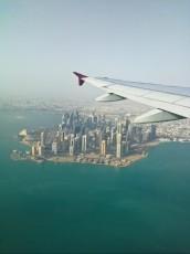 Qatar Doha pogled iz zraka