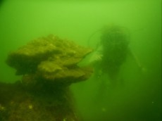 Scubadiving bad visibility