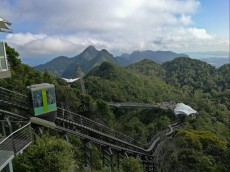 Skybridge Langkawi mountain
