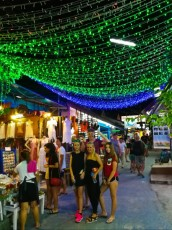Walking street Ko Lipe night life
