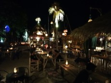 Walking street Ko Lipe sunset bar