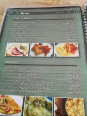 prices breakfast Langkawi