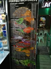 prices burger Langkawi
