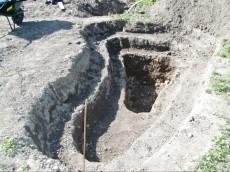 trinivojski izkop
