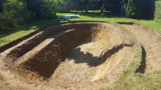 izkop za plavalni ribnik