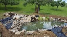 potok in slap ob ribniku