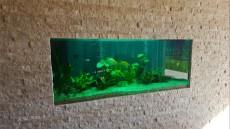 montaza akvarija v steno