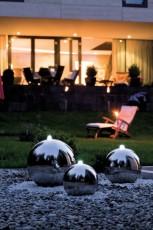 nocna fontana Arctic