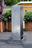 sobna fontana kovina Kubus