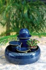Keramik fontana Trentino Blue